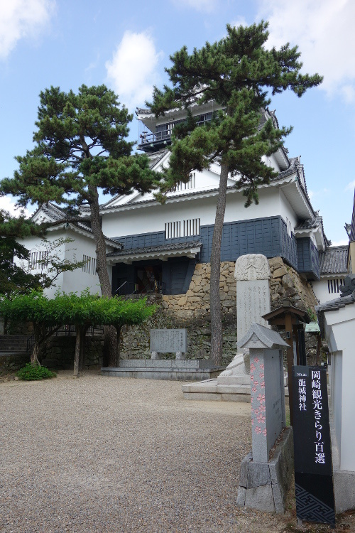岡崎城10