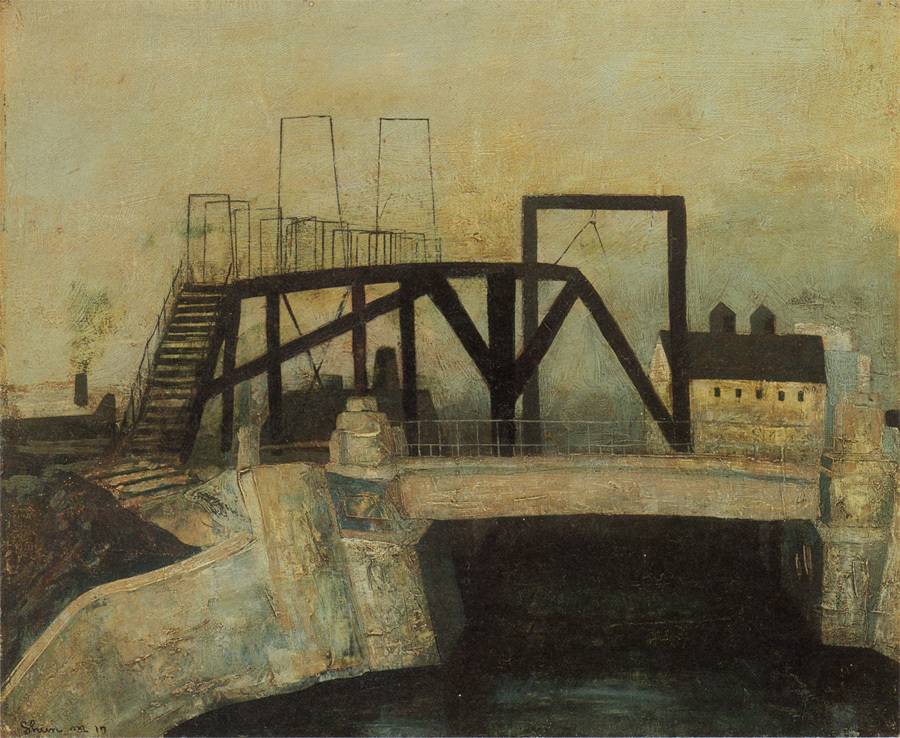 MatsumotoShunsuke_Bridge_in_Y-City_1942.jpg