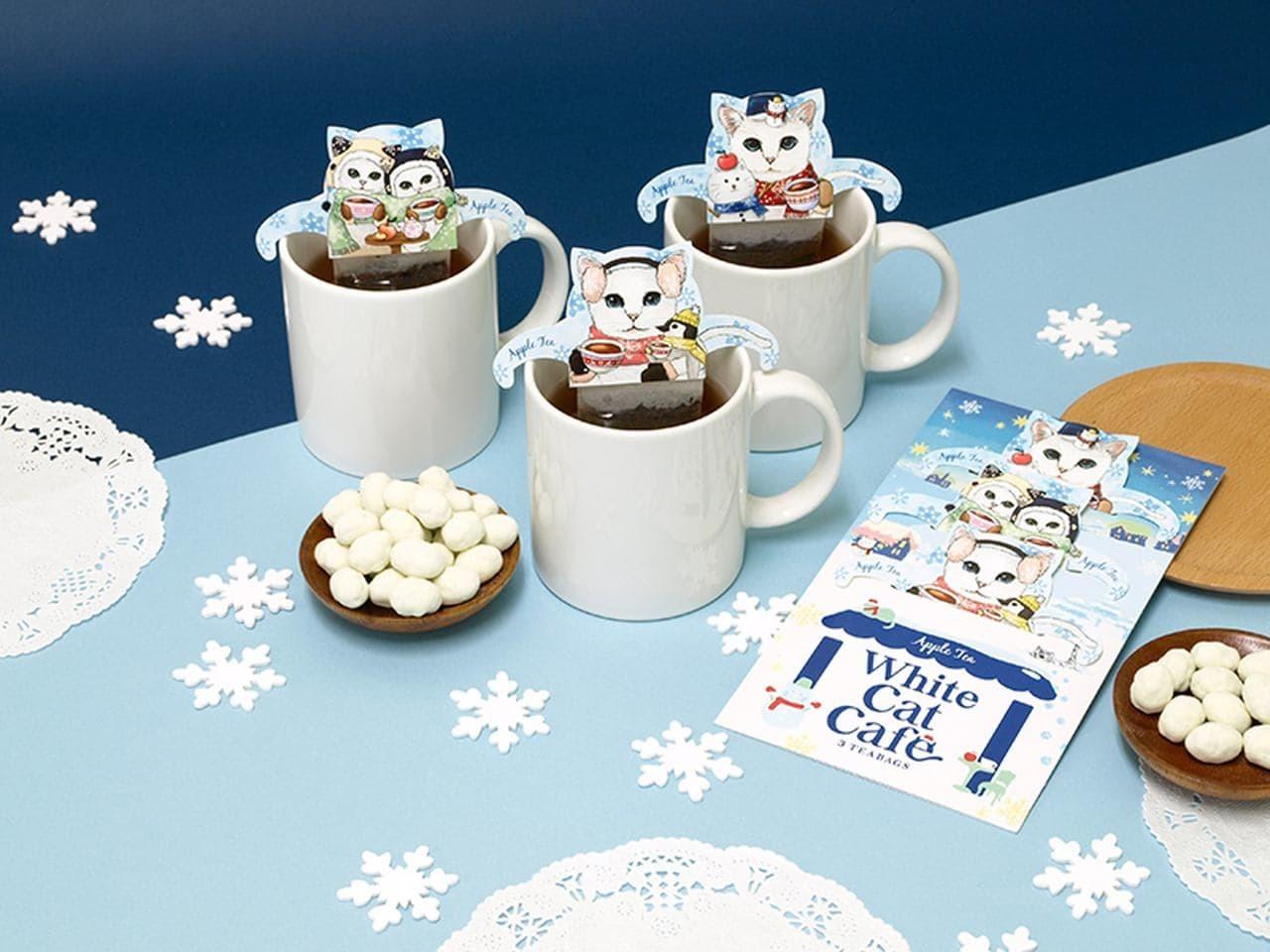 WhiteCat Cafe_cat-tea02