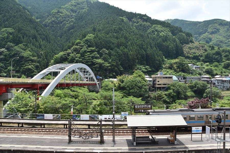 大歩危駅3