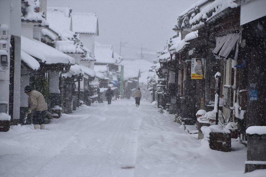 うだつ雪5