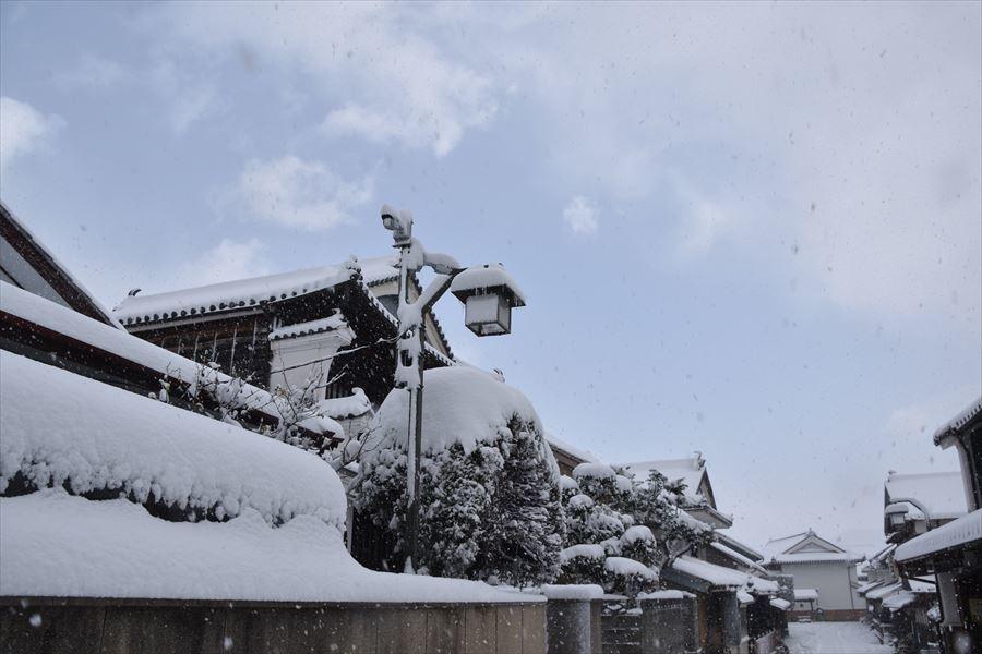 うだつ雪1