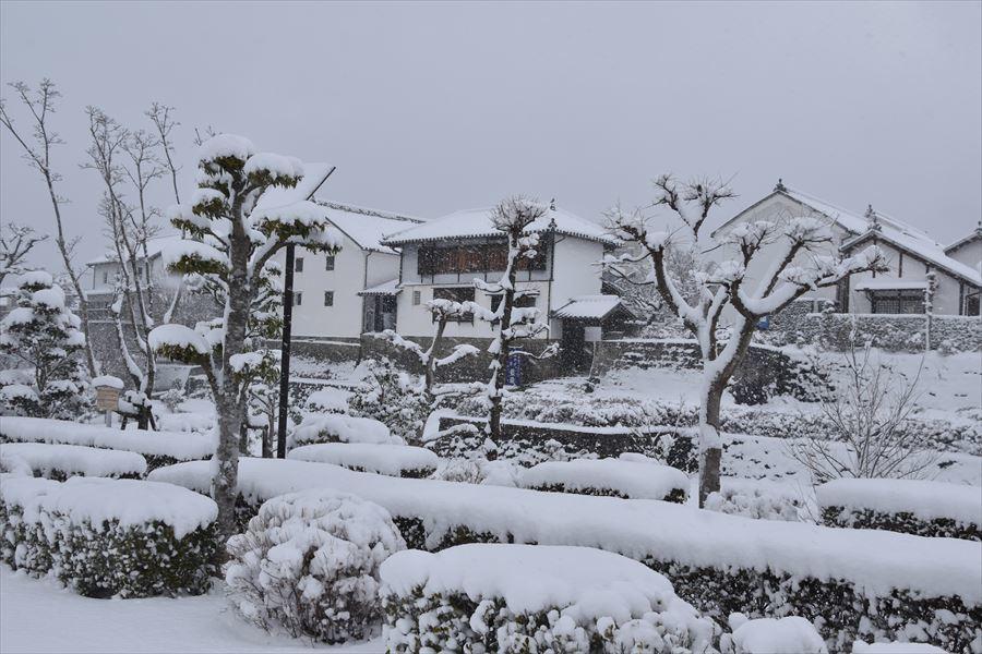 うだつ雪2