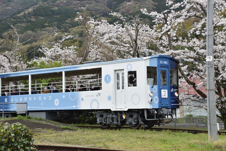 小島駅とトロッコ3