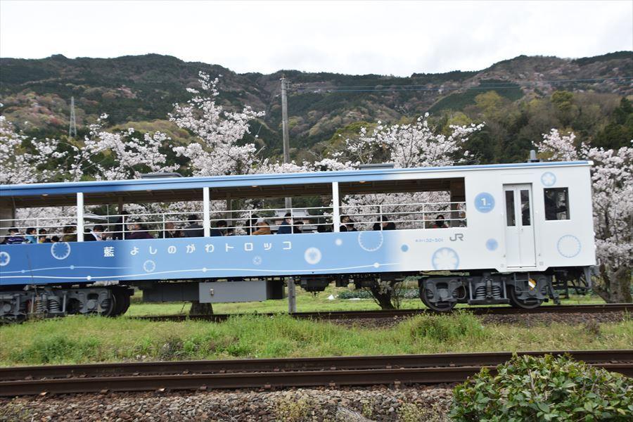 小島駅とトロッコ4