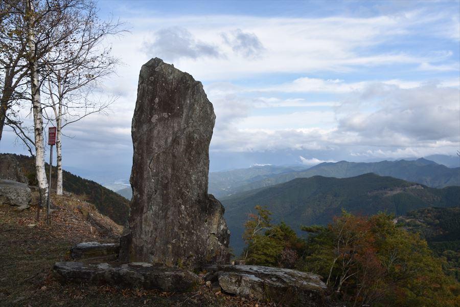 高越山立石峠4