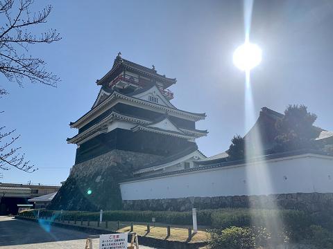 1813-太陽と清洲城