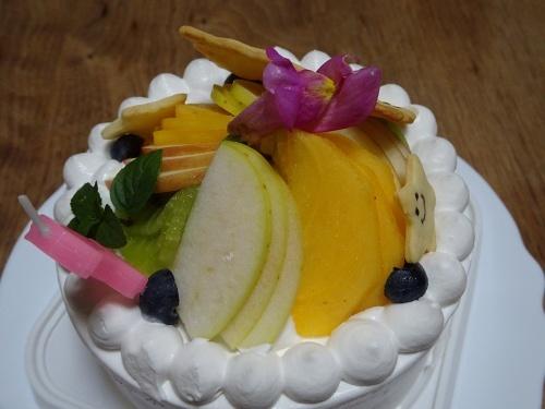 杏子の誕生日ケーキ