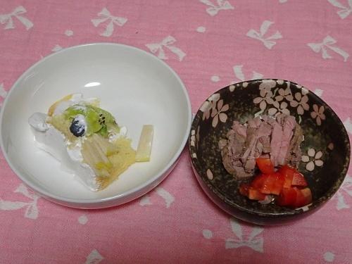 杏子のお誕生日ご飯