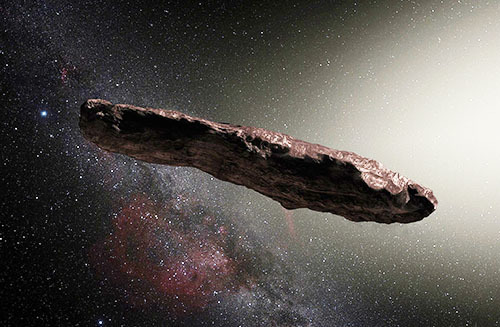 謎の天体オウムアムアは破壊された天体の破片か