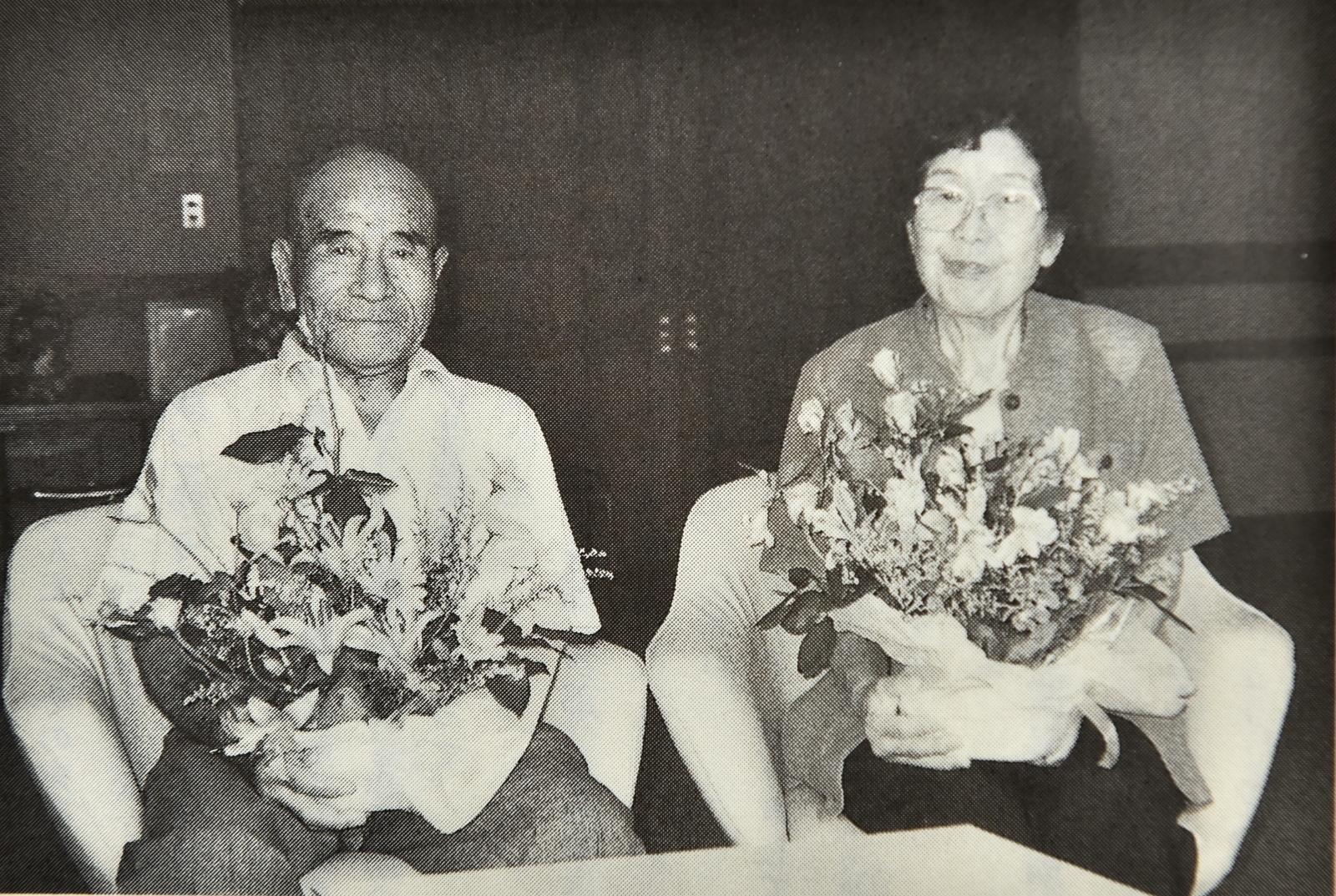 永浦誠喜さんと伊藤正子さん