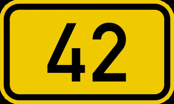 640px-Bundesstraße_42_number