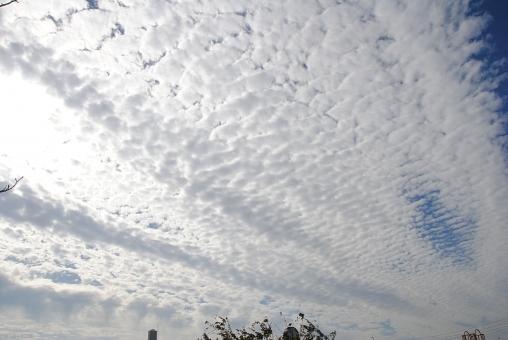 【うろこ雲】関東地方中心に各地で「地震雲」が発生か?ネット上で怪しい雲の報告が相次ぐ