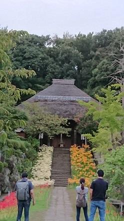西方寺2(参道)