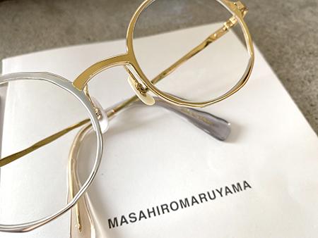 MASAHIROMARUYAMA マサヒロマルヤマ MM-0012 ゴールド シルバー 長岡亮介 めがね サングラス 新潟県取扱い店 見附市 Optical Inada 稲田眼鏡店