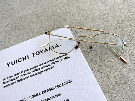 YUICHI TOYAMA ユウイチトヤマ USH めがね サングラス 新潟 取扱い 見附市 Optical Inada 稲田眼鏡店 メガネ店 U-073