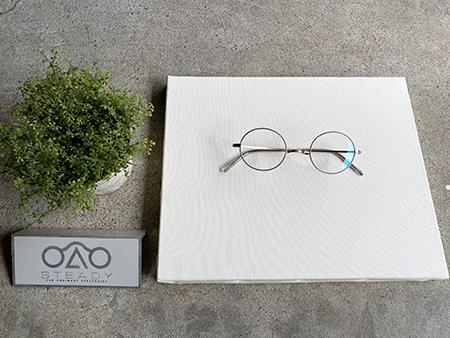 STEADY STD-10 一山 イチヤマ 丸メガネ 新潟県 見附市 Optical Inada 稲田眼鏡店