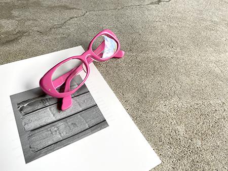 MASAHIROMARUYAMA マサヒロマルヤマ MM-0005 ピンクのメガネ 老眼鏡 リーディンググラス サングラス 新潟県 めがね店 見附市 Optical Inada 稲田眼鏡店