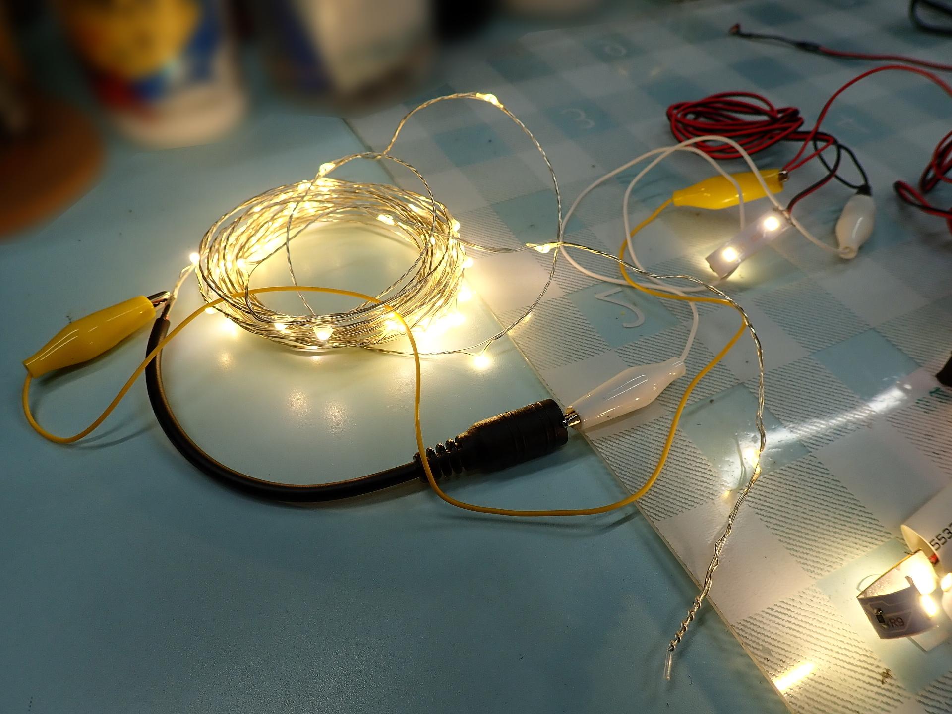 神社シーナリーの縁日電飾用LED帯です。