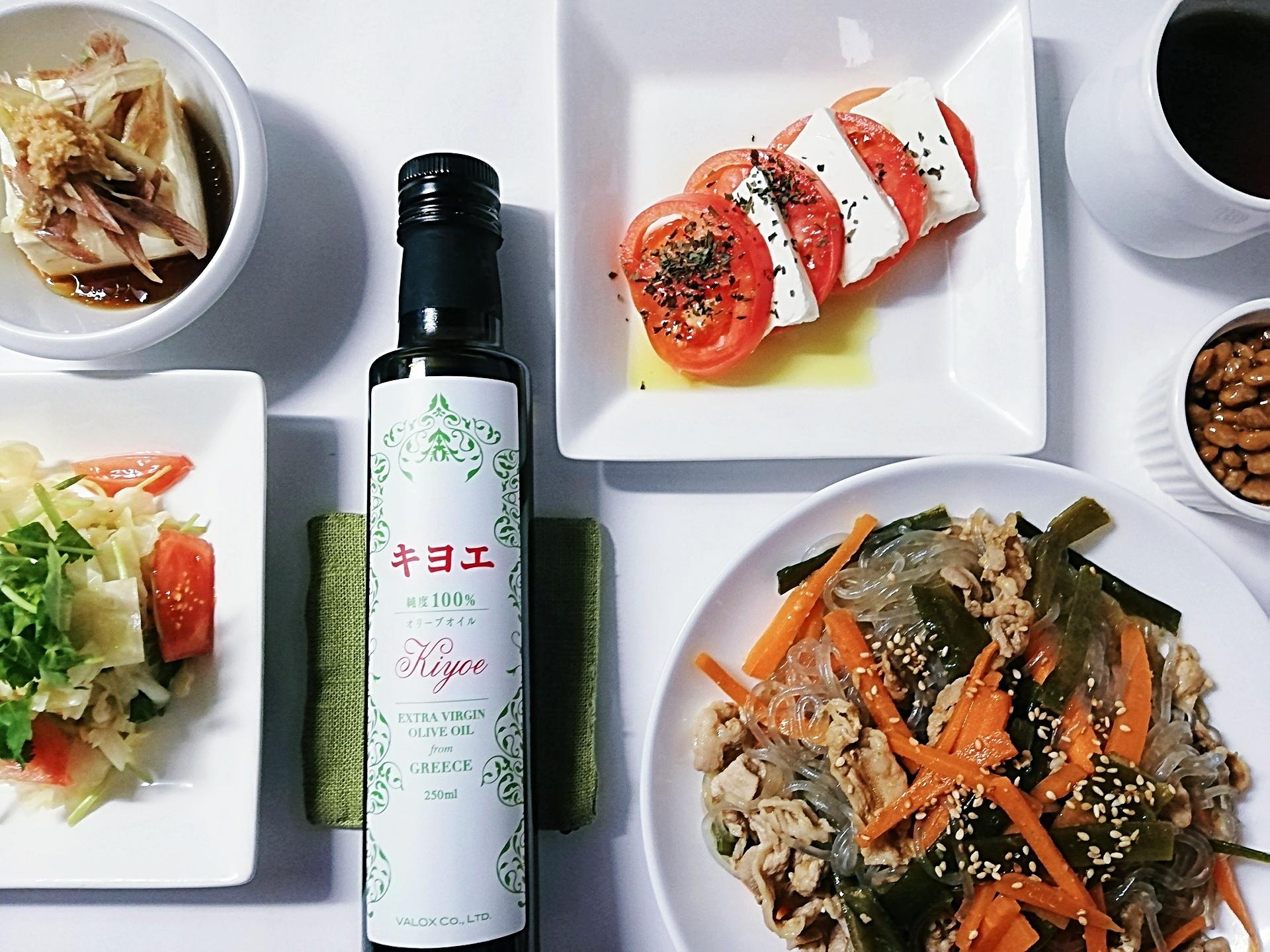 和食にもオリーブオイルを【ギリシャ・クレタ島産 キヨエEXVオリーブオイル】なら日本人のためのオリーブオイルです