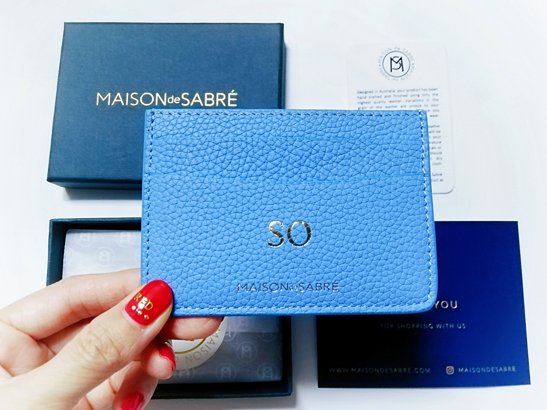 オシャレさんに大人気!!オーストラリア発のレザーブランド【MAISON de SABRÉ(メゾンドサブレ)】で理想的なカードケースに出会いました