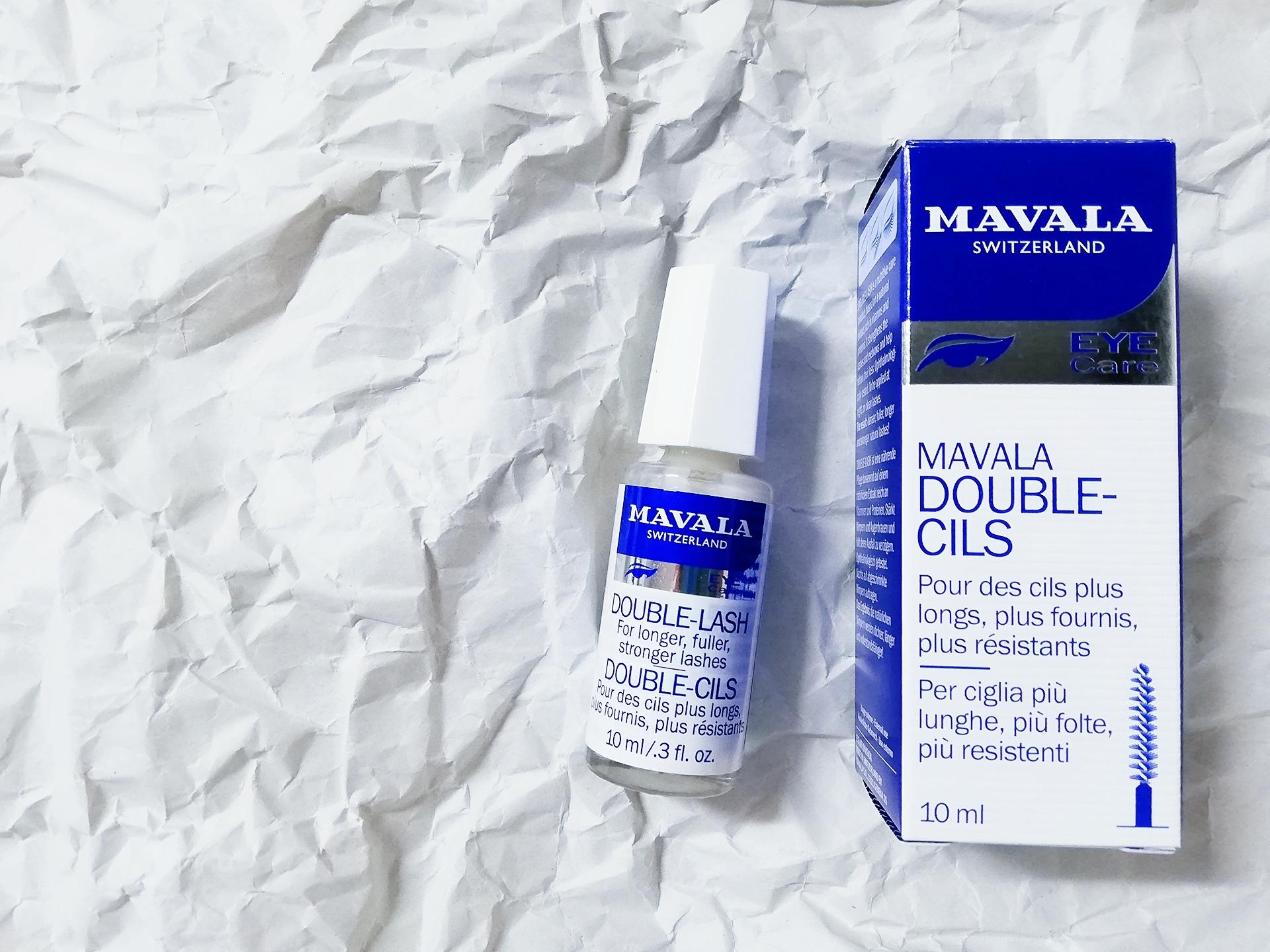 スイス生まれのロングセラーまつ毛美容液【マヴァラ(Mavala) ダブルラッシュ】で艶とハリのあるまつ毛をキープしています