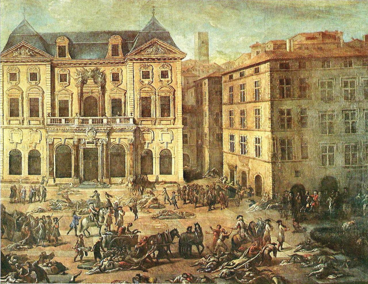 マルセイユ ペスト 1720年