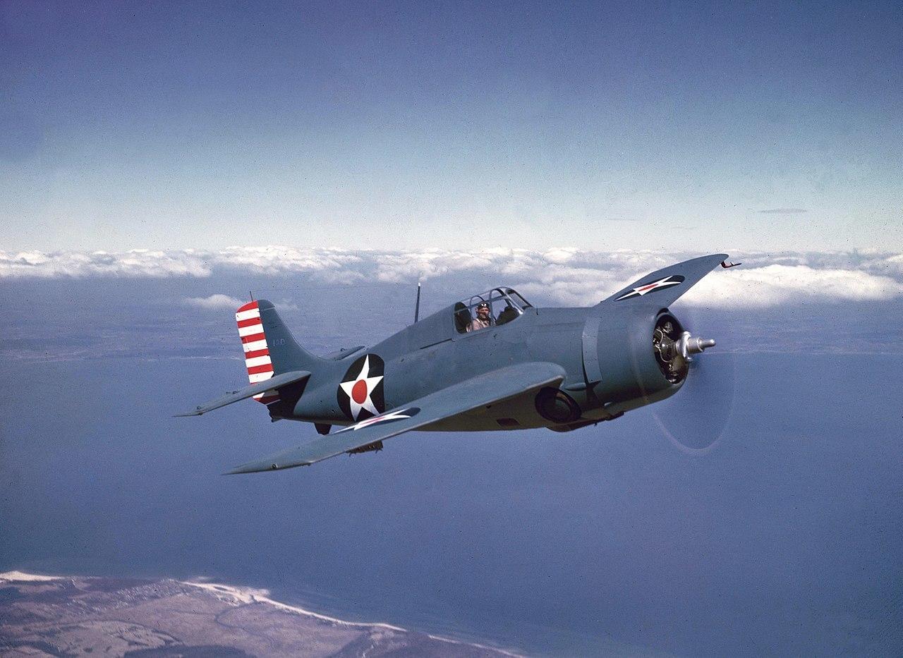 F4F ワイルドキャット 1942年