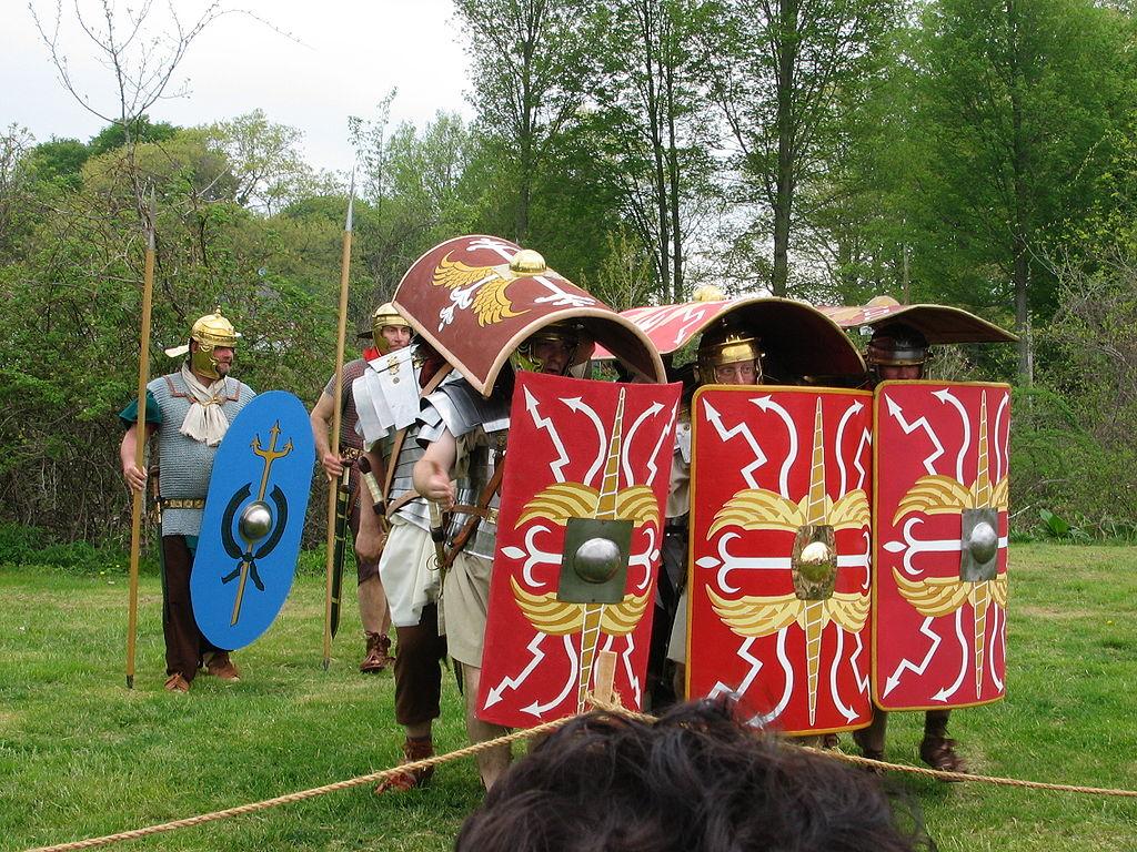 ローマ軍の歩兵戦術「テストゥド」