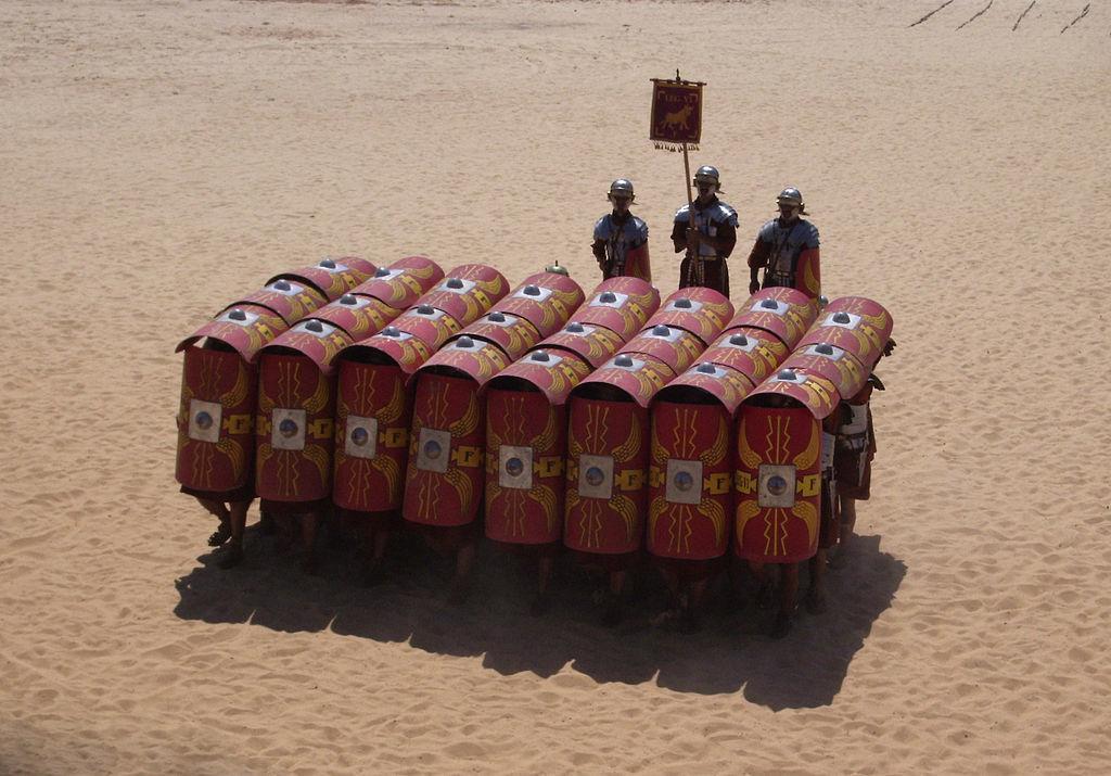 ローマ軍の歩兵戦術「テストゥド」2