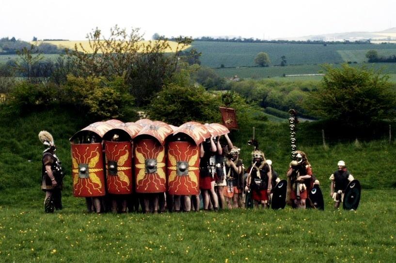 ローマ軍の歩兵戦術「テストゥド」3