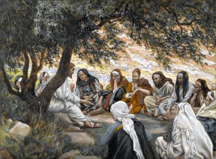 『使徒への勧め』 ジェームズ・ティソ