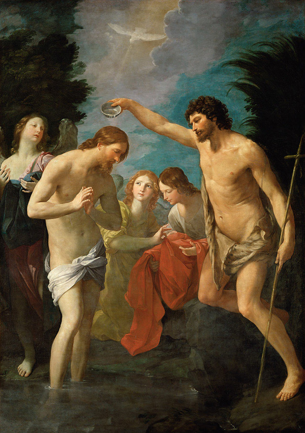 『ヨハネによるイエスの洗礼』 グイド・レーニ