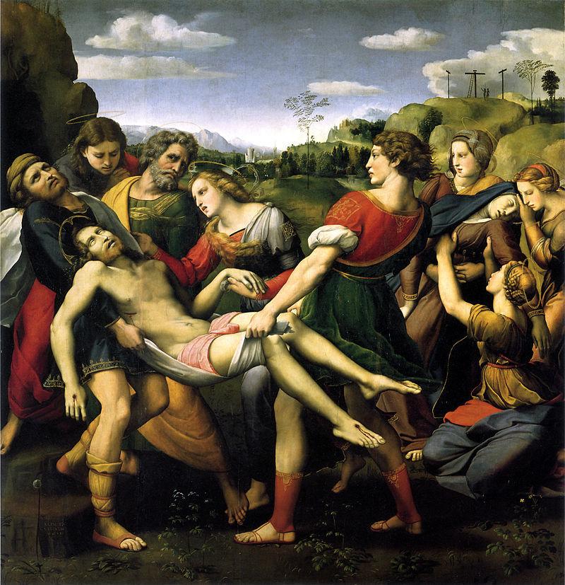 『十字架降下』 ラファエロ・サンティ