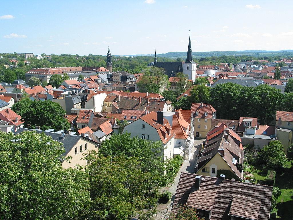 ヴァイマール(Weimar)の風景