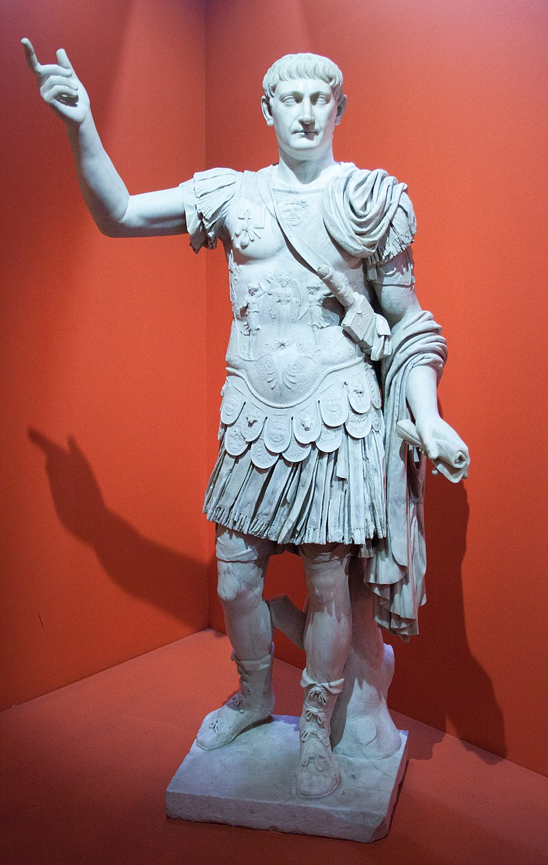トラヤヌス像(ナポリ考古学博物館)