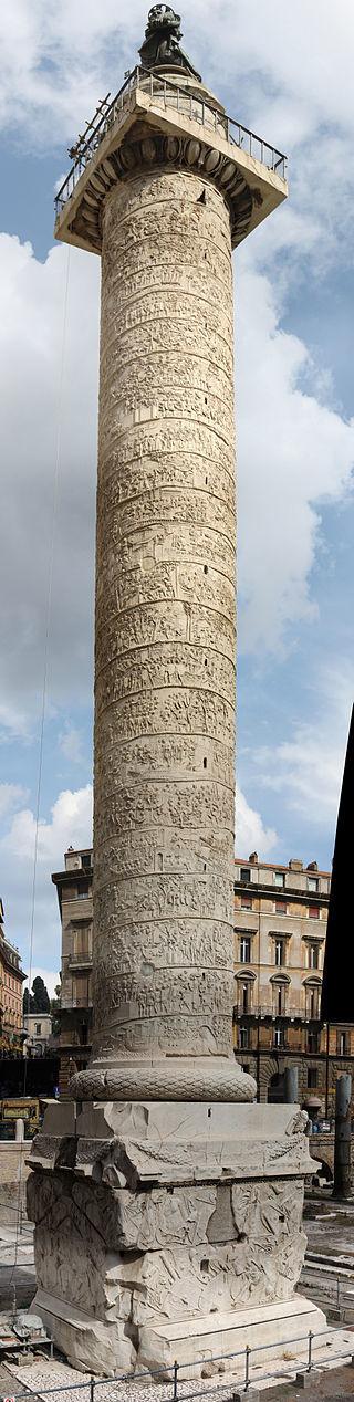 トラヤヌスの記念柱(ローマ)