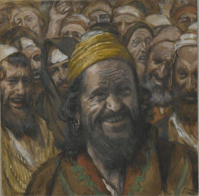 『バラバの肖像』 ジェームス・ティソ