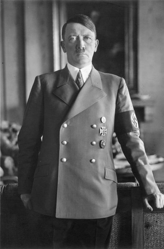 アドルフ・ヒトラー 1938年