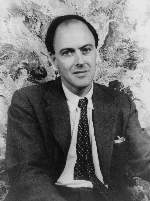 ロアルド・ダール、38歳の写真(1954年)
