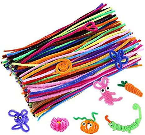 coloured pipe-cleaner
