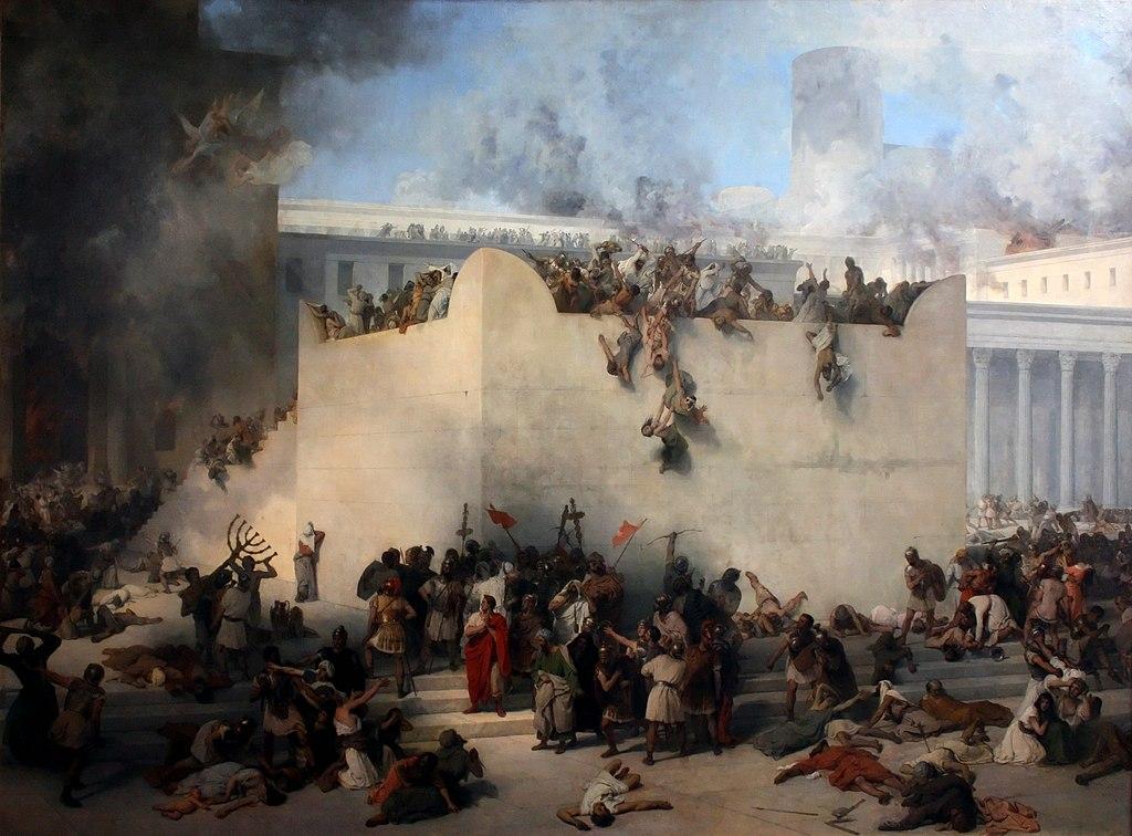 『エルサレム神殿の破壊』 フランチェスコ・アイエツ