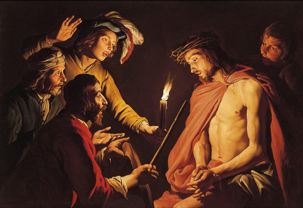『キリストのあざけり』 マティアス・ストム