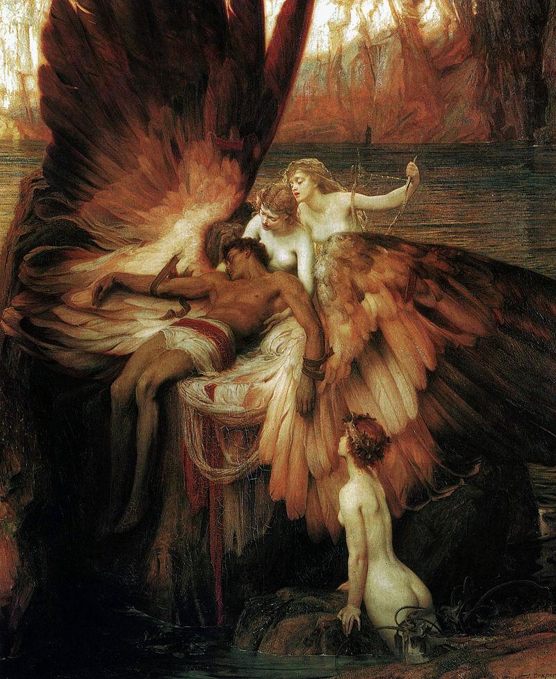 『イーカロスへの哀歌』 ハーバート・ジェームズ・ドレイパー