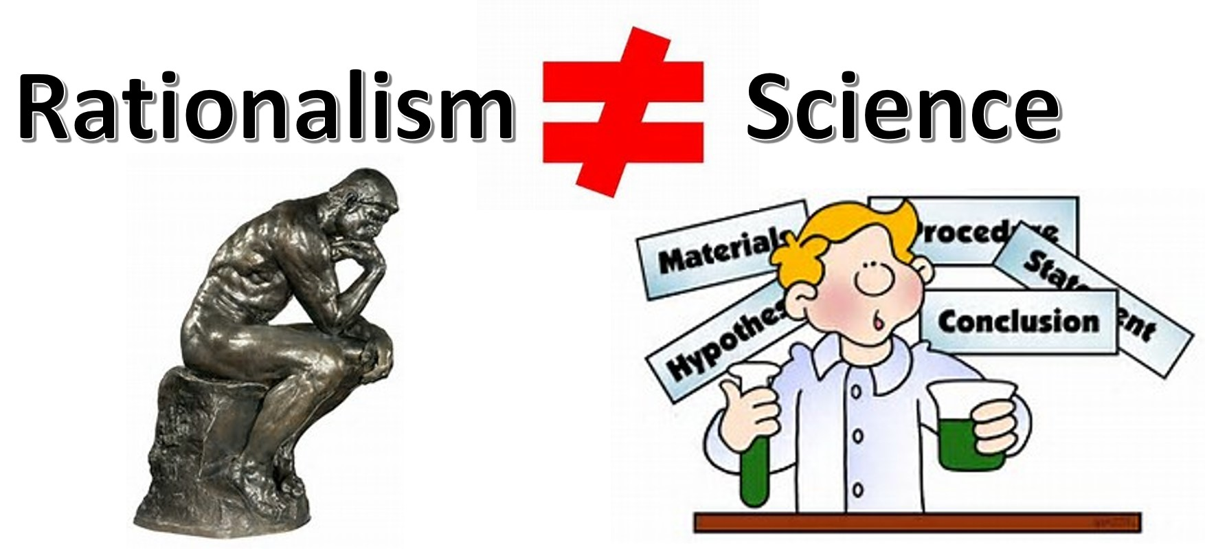 rationalism does not equal science