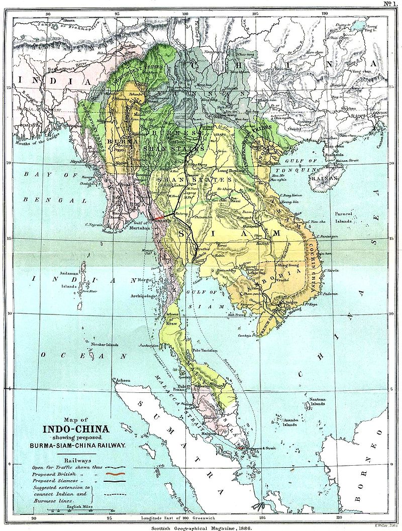 古来よりインドの影響力が、支那(シナ)よりも遥かに勝っていた「インドシナ半島」