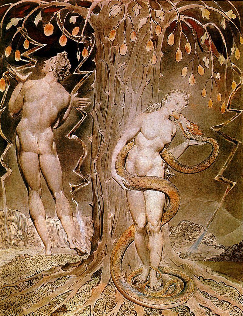 『知恵の樹』 ウィリアム・ブレイク