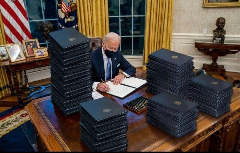 Biden Office Status