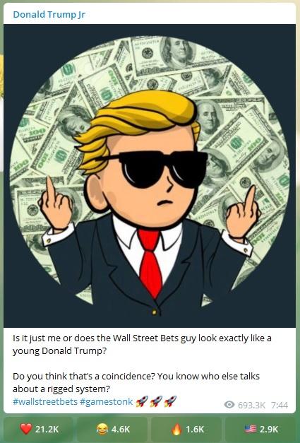 young Donald Trump?