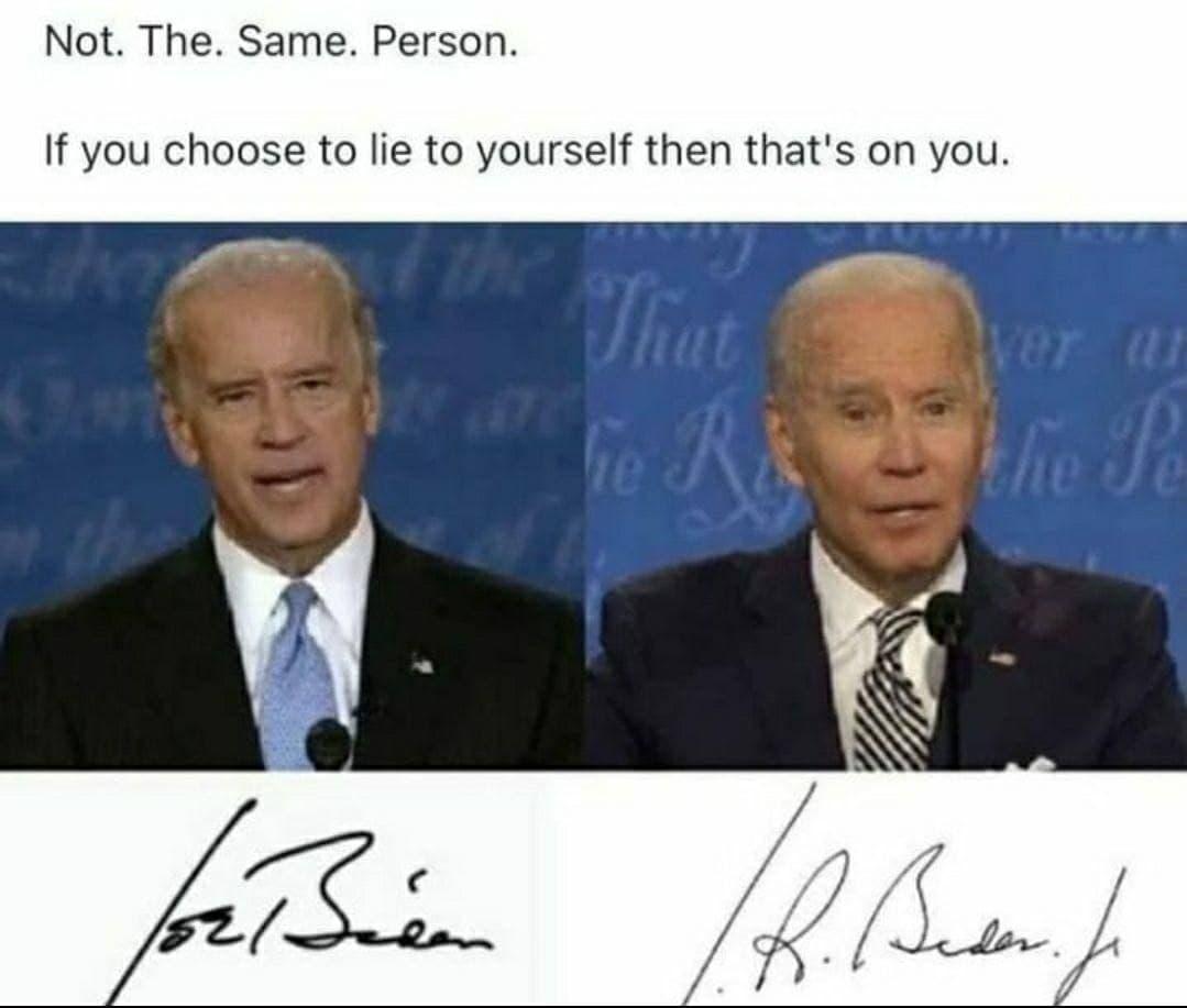 Real Joe Biden?!